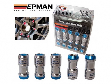 EPMAN FORMULA WHEELS LOCK LUG NUTS