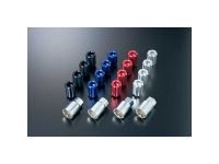J's Racing Aluminum open lock nuts set